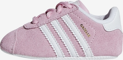 ADIDAS ORIGINALS Lauflernschuhe 'Cazelle Crib' in rosa / weiß: Frontalansicht