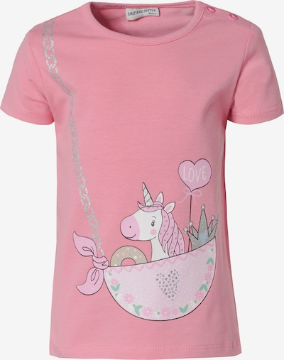 SALT AND PEPPER T-Shirt , Organic Cotton, Einhorn in pink, Produktansicht