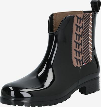 TOMMY HILFIGER Regenlaarzen in de kleur Beige / Zwart, Productweergave