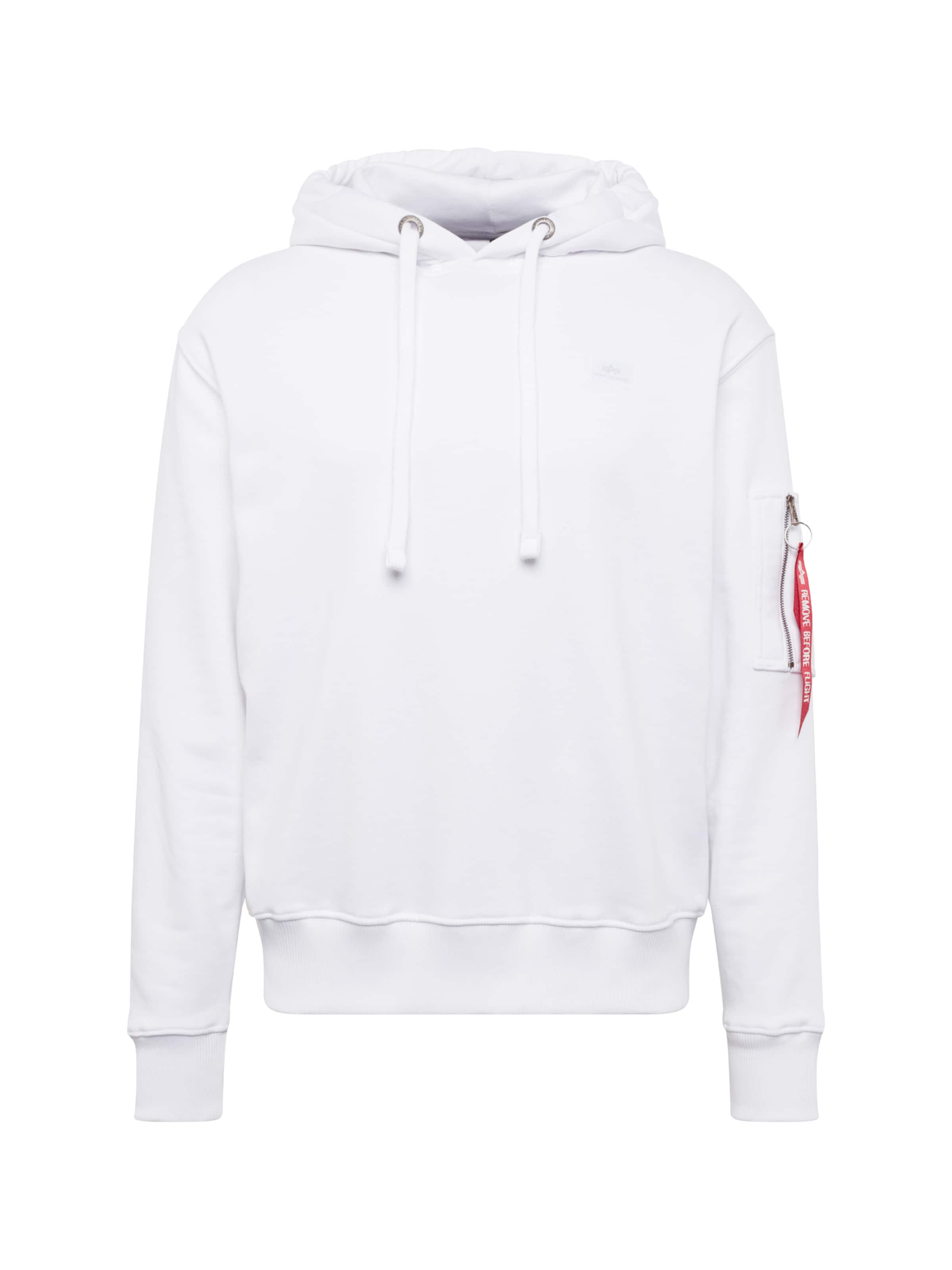 Alpha In Industries Hoody 'x fit' Weiß lFK1Jc3Tu