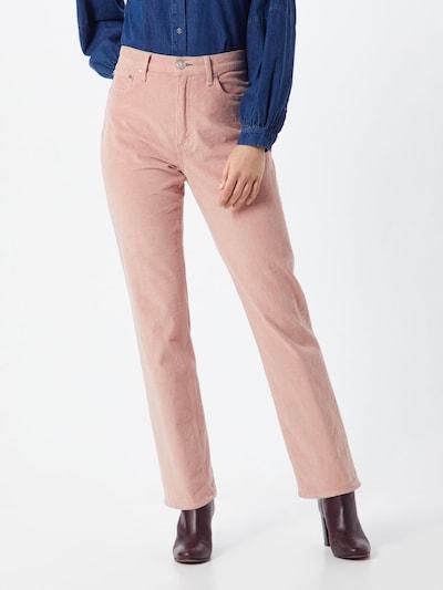 rag & bone Broek 'Ruth' in de kleur Rosa, Modelweergave