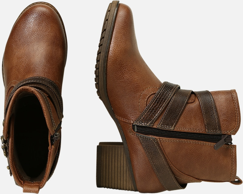 Marron En Bottines Mustang Marron Bottines Mustang En XZPkiu