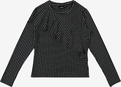 NAME IT Blouse 'NLFBARBARA LS REG' in de kleur Navy / Wit, Productweergave
