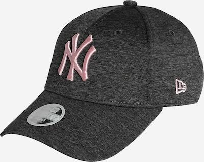 NEW ERA Cap in dunkelgrau / pink, Produktansicht