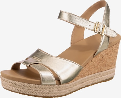 UGG Sandale 'Cloverdale' in gold, Produktansicht