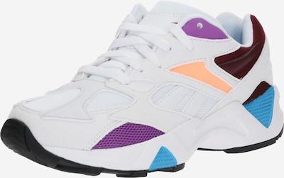 Reebok Classic Sneakers laag 'AZTREK 96' in de kleur Bruin / Lila / Wit, Productweergave