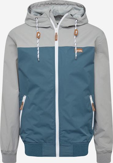 Iriedaily Jacke 'Auf Deck' in pastellblau / grau, Produktansicht