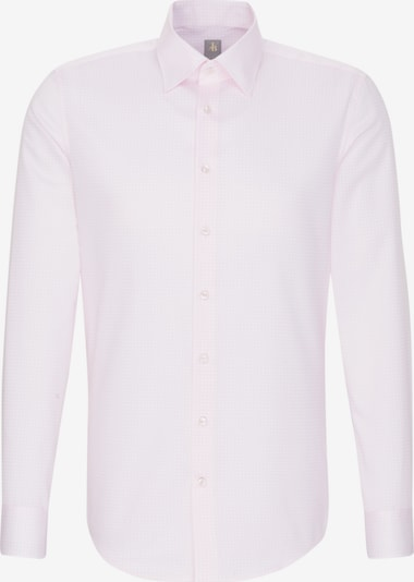 Jacques Britt Business Hemd ' Slim Fit ' in pink / weiß: Frontalansicht