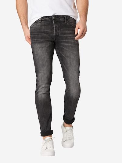 JACK & JONES Jeans 'Glenn' i black denim, Modelvisning