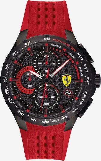 Scuderia Ferrari Chronograph in rot / schwarz, Produktansicht