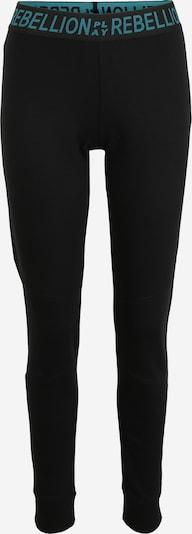 ONLY PLAY Sporthose 'AERIES' in grün / schwarz, Produktansicht