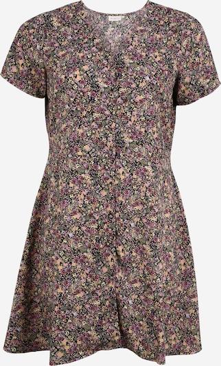 ONLY Carmakoma Kleid in grün / rosa / schwarz, Produktansicht