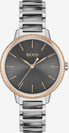 BOSS Analog watch 'SIGNATURE' in rose gold / dark grey / silver / white, Item view