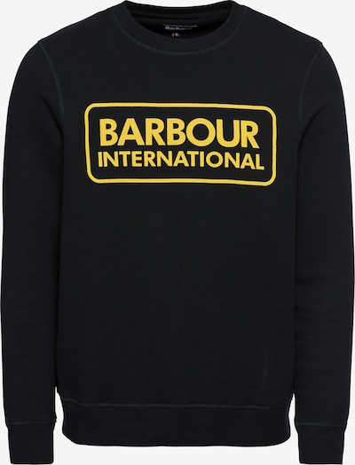 Barbour International Sweat-shirt en jaune / noir, Vue avec produit