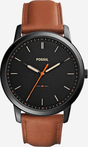 FOSSIL Analog Watch 'THE MINIMALIST 3H' in Brown