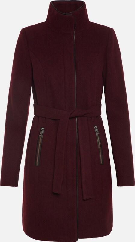 VERO MODA Mantel in burgunder  Mode neue Kleidung