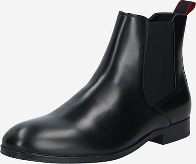 HUGO Chelsea Boots en noir, Vue avec produit