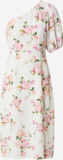 Miss Selfridge (Petite) Kleid in grün / lachs / pink / rosa / weiß, Produktansicht