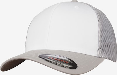 Flexfit Cap in silber / weiß, Produktansicht