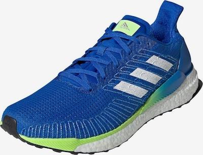 ADIDAS PERFORMANCE Laufschuh in blau / neongrün, Produktansicht