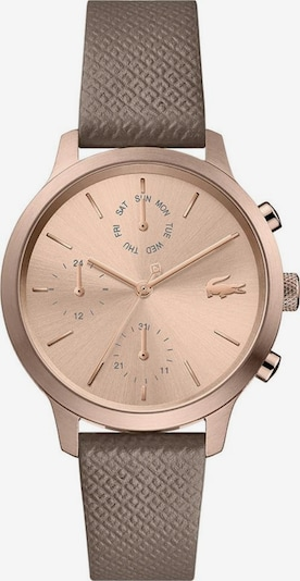 LACOSTE Multifunktionsuhr »LACOSTE.12.12, 2001150« in rosegold / taupe / rosé, Produktansicht