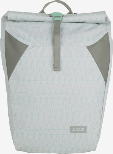 AEVOR Tagesrucksack 'Rolltop' in azur / graumeliert / mint, Produktansicht