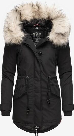 NAVAHOO Wintermantel in creme / schwarz, Produktansicht