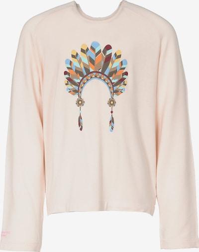 Colorado Denim Shirt 'INI' in hellblau / gelb / orange / rosa / blutrot, Produktansicht