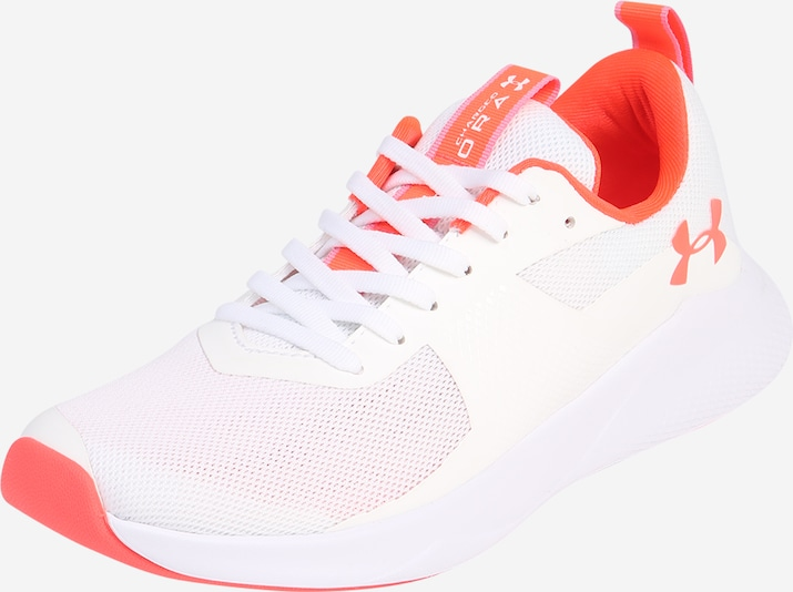UNDER ARMOUR Chaussure de course 'UA W Charged Aurora' en orange / blanc, Vue avec produit