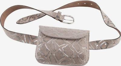 VANZETTI Gürteltasche in grau / taupe / silber, Produktansicht