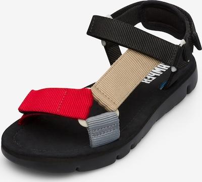 CAMPER Sandales de randonnée 'Oruga' en mélange de couleurs, Vue avec produit
