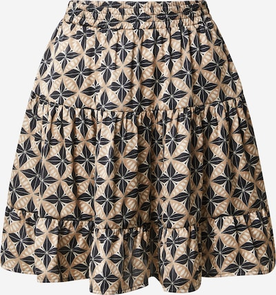 Rut & Circle Spódnica 'Telma' w kolorze beżowy / czarnym, Podgląd produktu