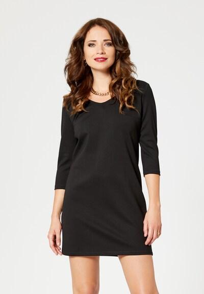 faina Etuikleid in schwarz, Modelansicht