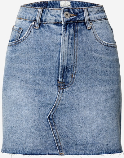 Cotton On Rok 'THE CLASSIC DENIM SKIRT' in de kleur Blauw: Vooraanzicht