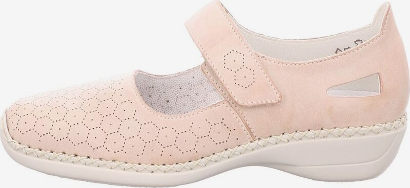 RIEKER Instappers in Rosé 0m61Q7rb