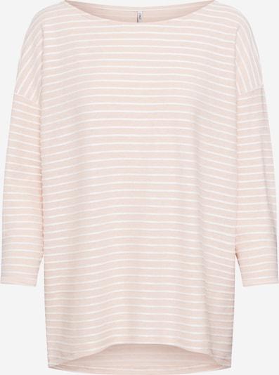 ONLY Majica 'Elly' u roza / bijela: Prednji pogled