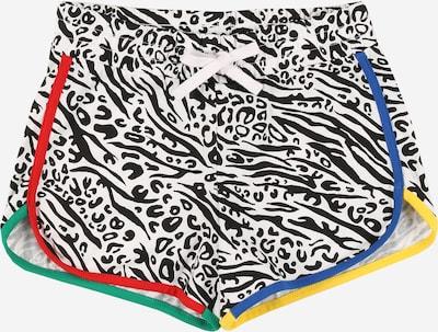 UNITED COLORS OF BENETTON Shorts in mischfarben / schwarz / weiß, Produktansicht