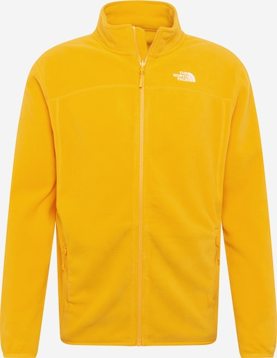 THE NORTH FACE Chaqueta polar funcional '100 Glacier' en amarillo, Vista del producto