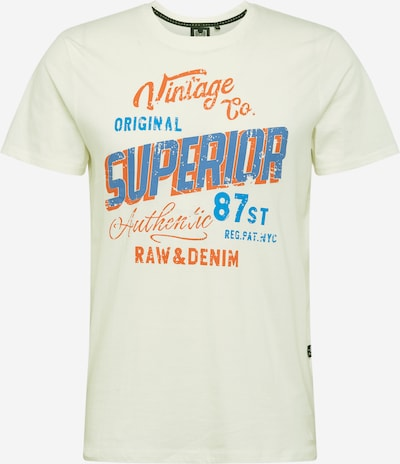 Hailys Men T-Shirt in hellgelb / mischfarben, Produktansicht