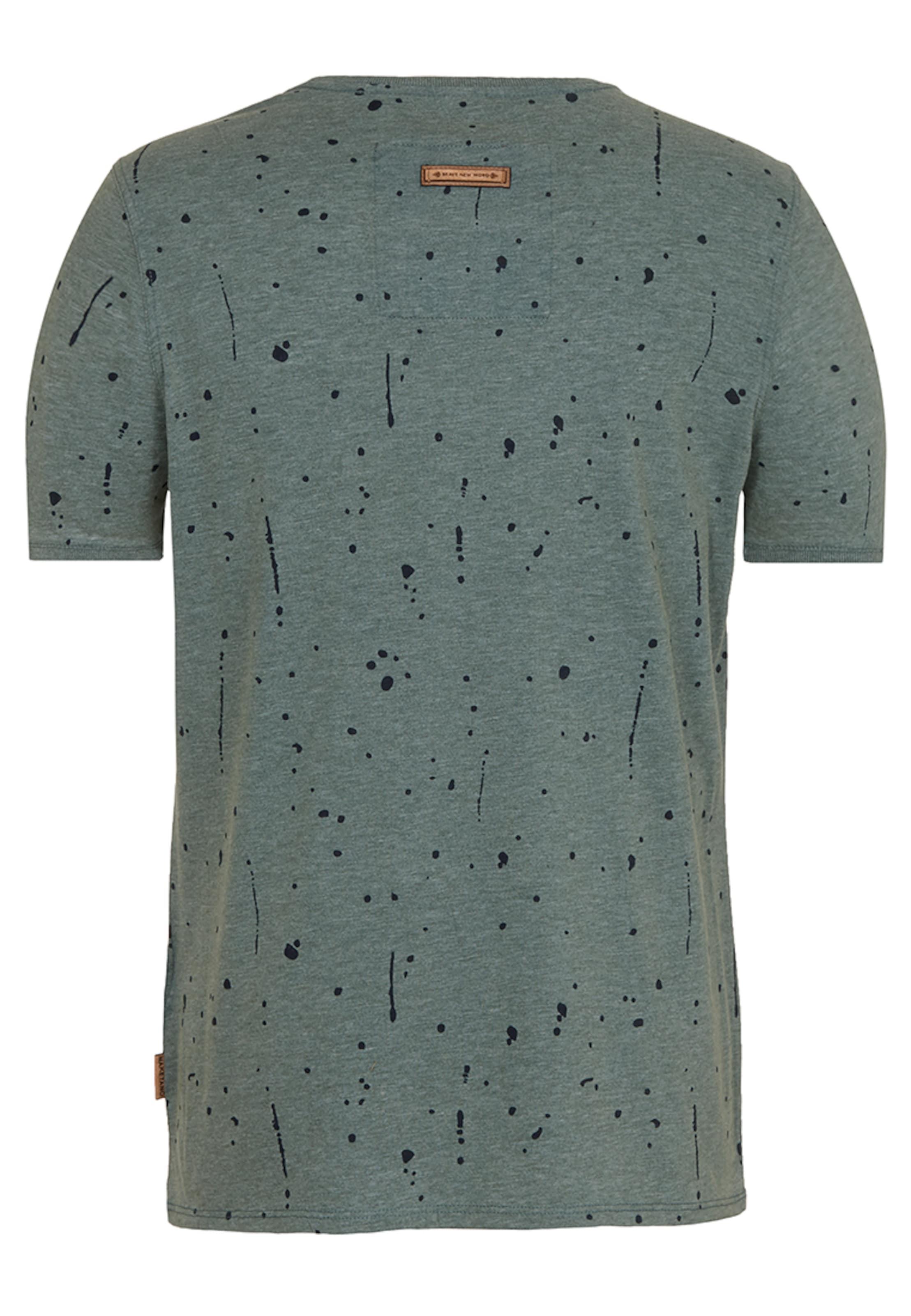 Verkauf Günstig Online Exklusiv Günstig Online naketano Male T-Shirt 'What's the 411' Rabatt 100% Original Rabatt Niedrigen Preis Versandgebühr Billig Verkauf Hochwertiger 2hakpv