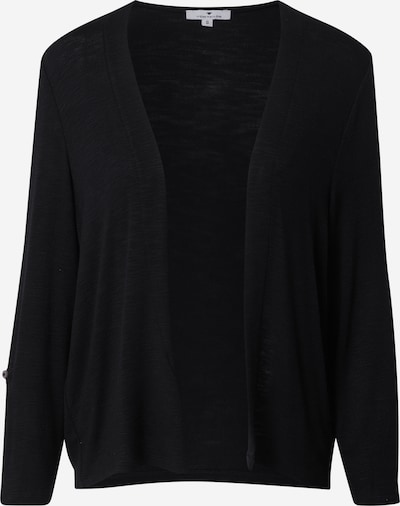 TOM TAILOR Cardigan in schwarz, Produktansicht