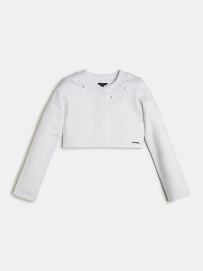 GUESS KIDS Blazer mit Strass in weiß, Produktansicht