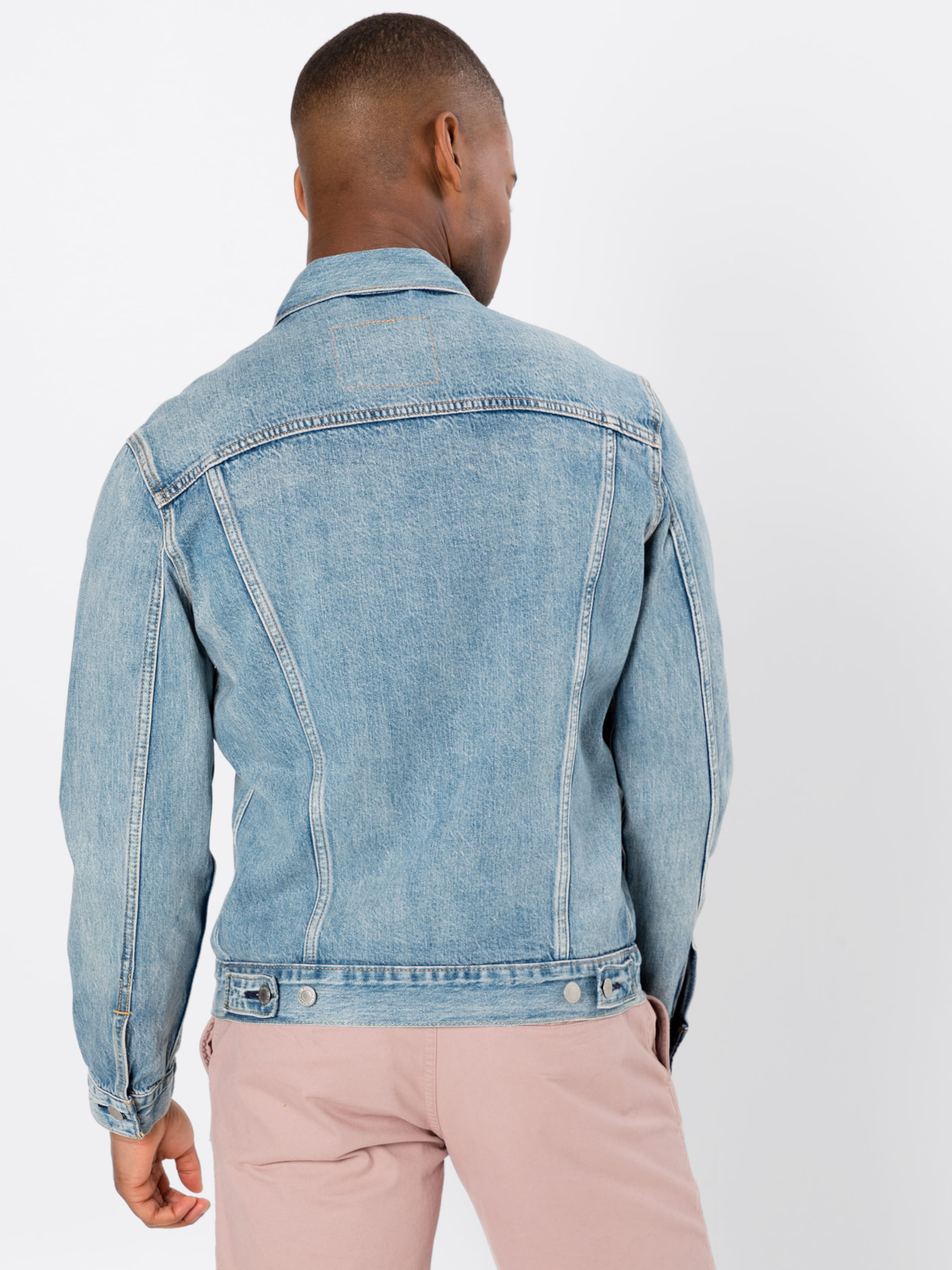 Blue Denim Jacke In Levi's 'the Trucker' PkXn0wON8