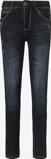 TUMBLE N' DRY Jeans 'Franc' in black denim: Frontalansicht