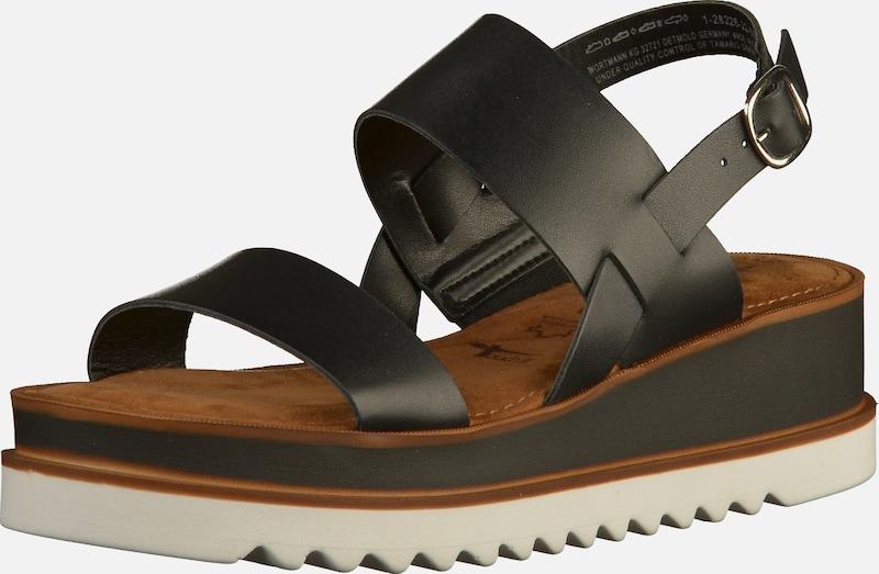 TAMARIS Sandalen Leder Bequem, gut aussehend