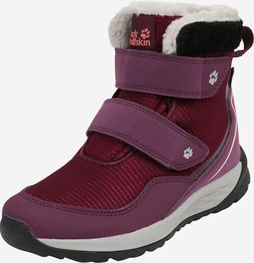 JACK WOLFSKIN Boots 'Polar' in Lila