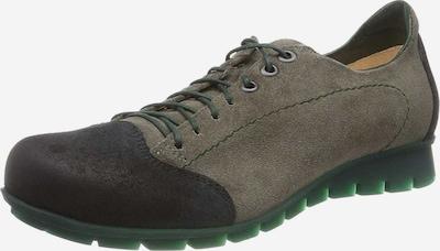 THINK! Schnürschuhe in grün / schwarz, Produktansicht
