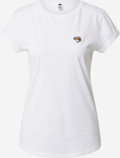 Hafendieb Shirt 'Granaat' in weiß, Produktansicht