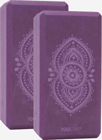 YOGISTAR.COM Yogablock 'Ajna Chakra' in aubergine, Produktansicht