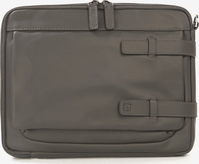 TUCANO Tablettasche 'Leather shoulder bag 10 inch' in grau / anthrazit / dunkelgrau, Produktansicht